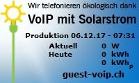 VoIP mit Solarstrom